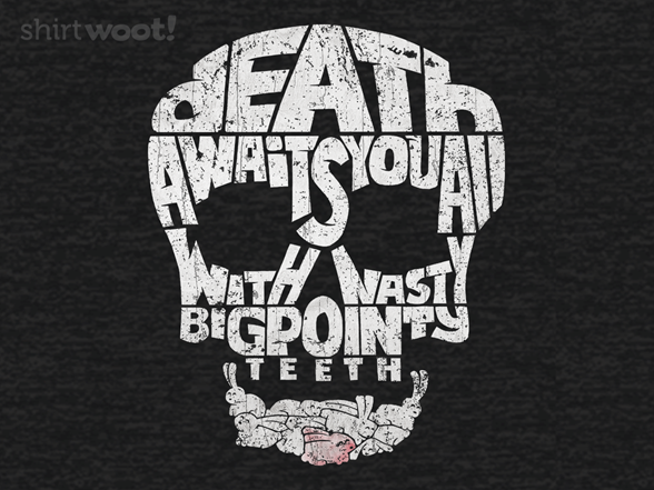 Death By Rabbit T Shirt
