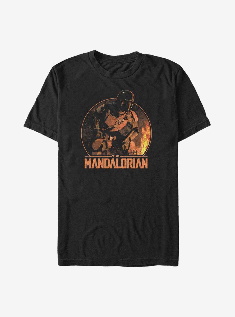 Sta Wars The Mandalorian Camping Mando T-Shirt