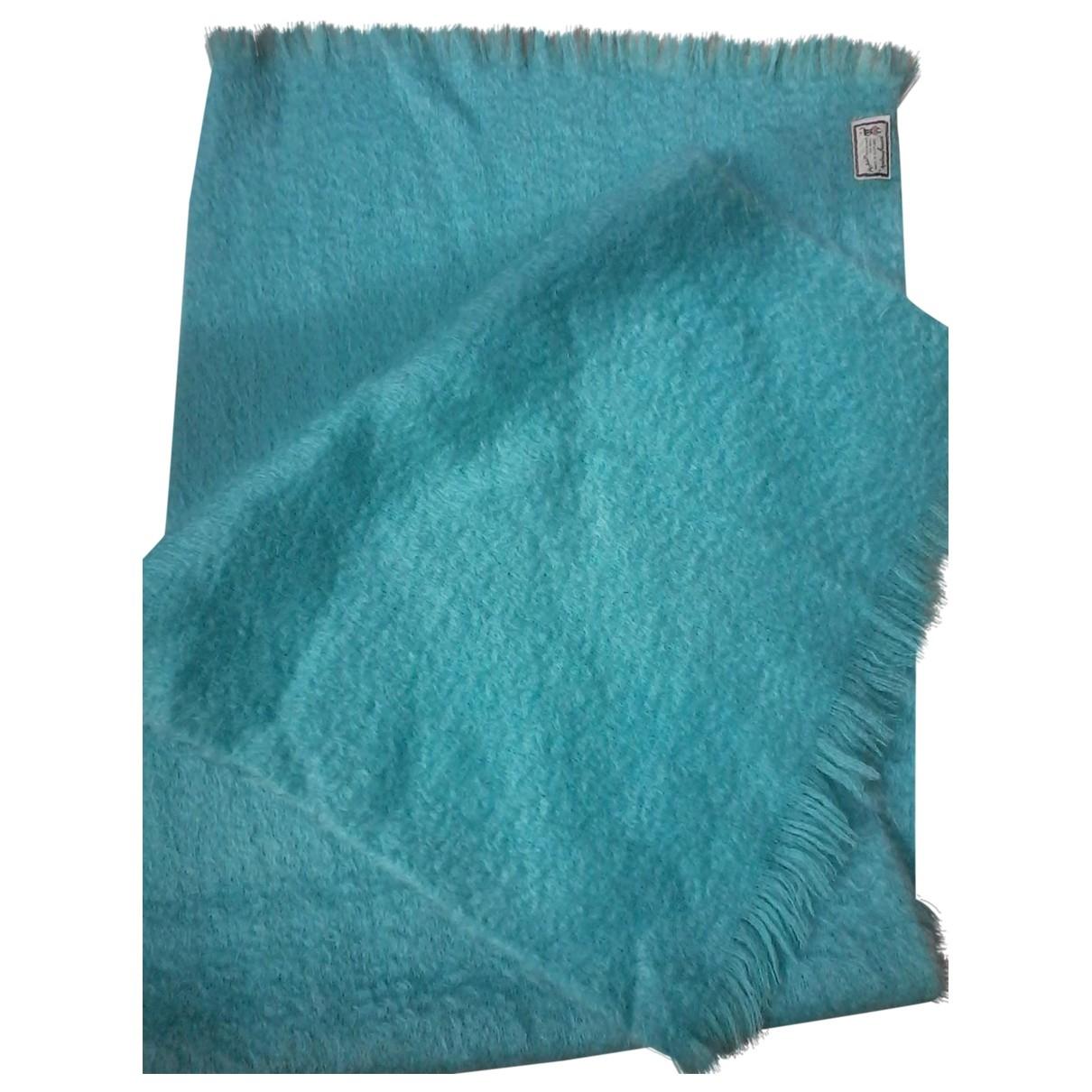 - Foulard   pour femme en lin - turquoise