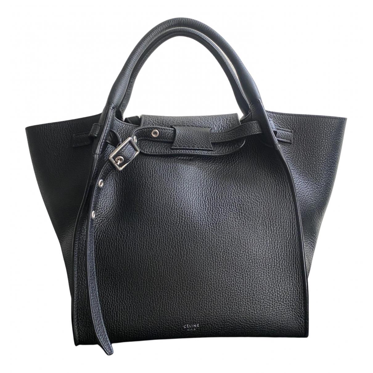 Celine Big Bag Black Leather handbag for Women N