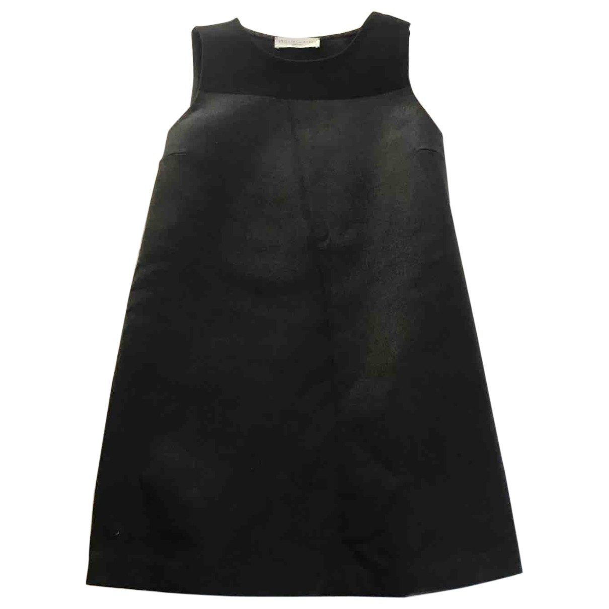 Stella Mccartney \N Kleid in  Schwarz Wolle