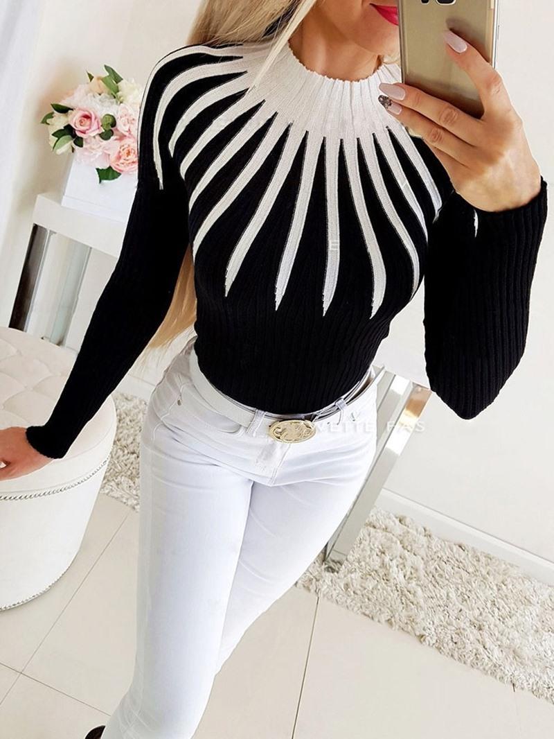 Ericdress Regular Standard Women's Slim Sweater