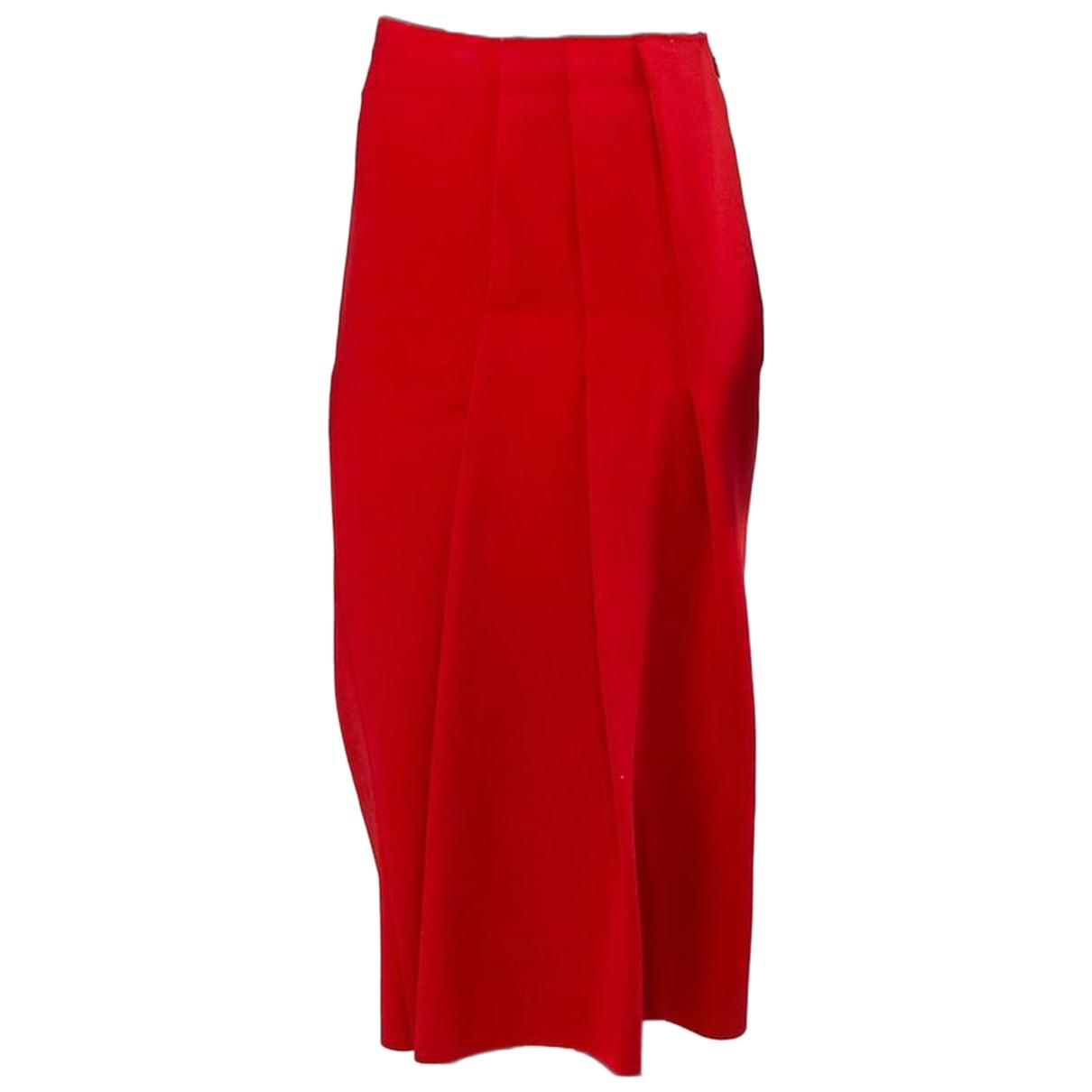 Victoria Beckham N Red skirt for Women XS International