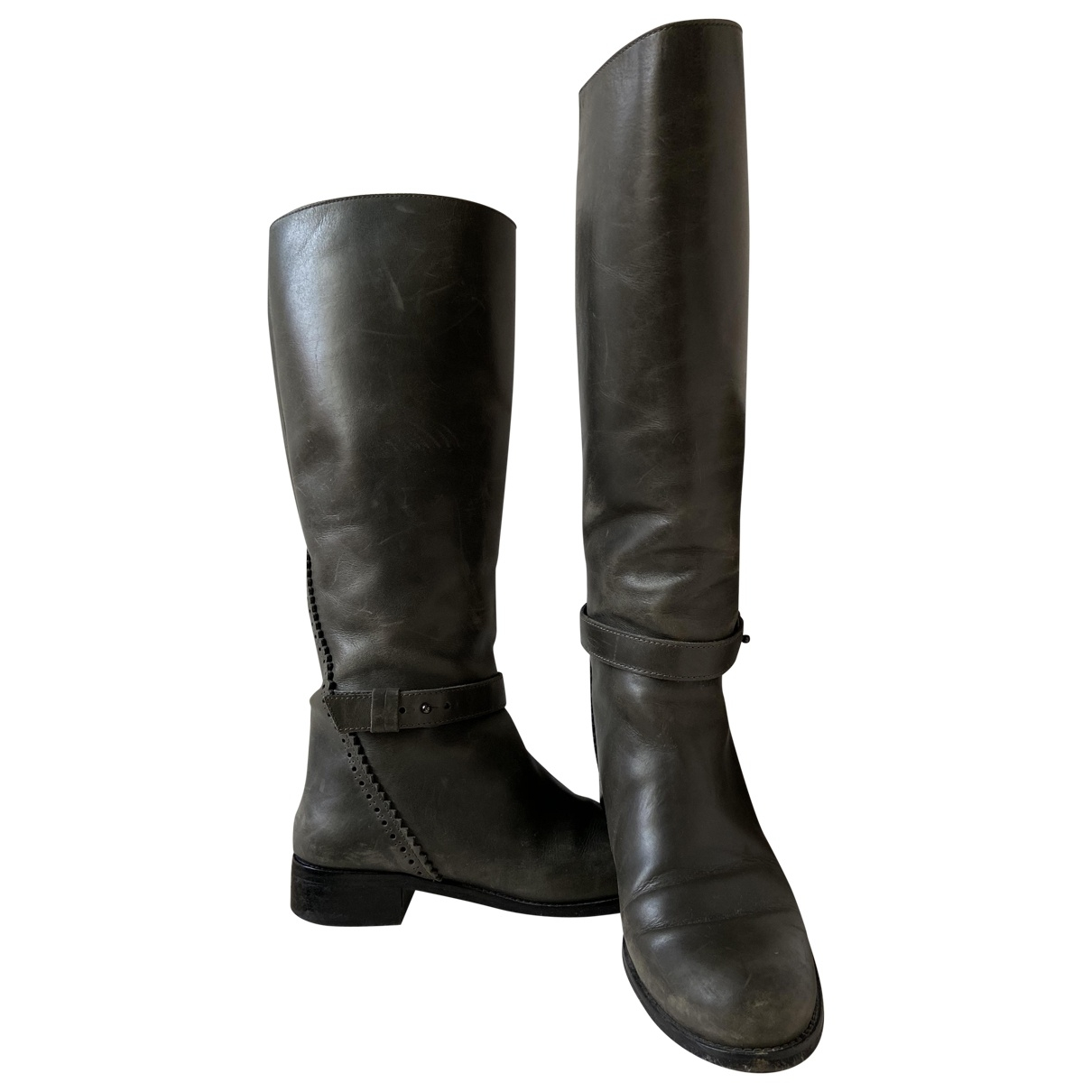 & Stories \N Leather Boots for Women 39 EU