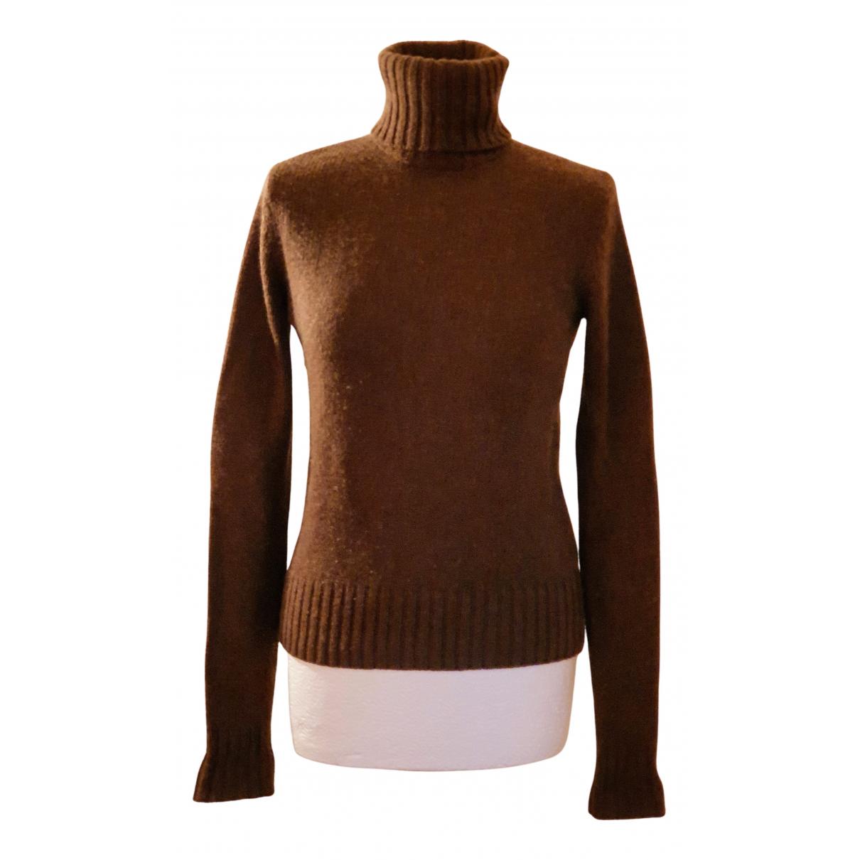 Ralph Lauren - Pull   pour femme en cachemire - marron