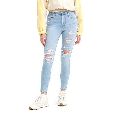 Levi's 720 High Rise Super Skinny Jean, 29 , Blue