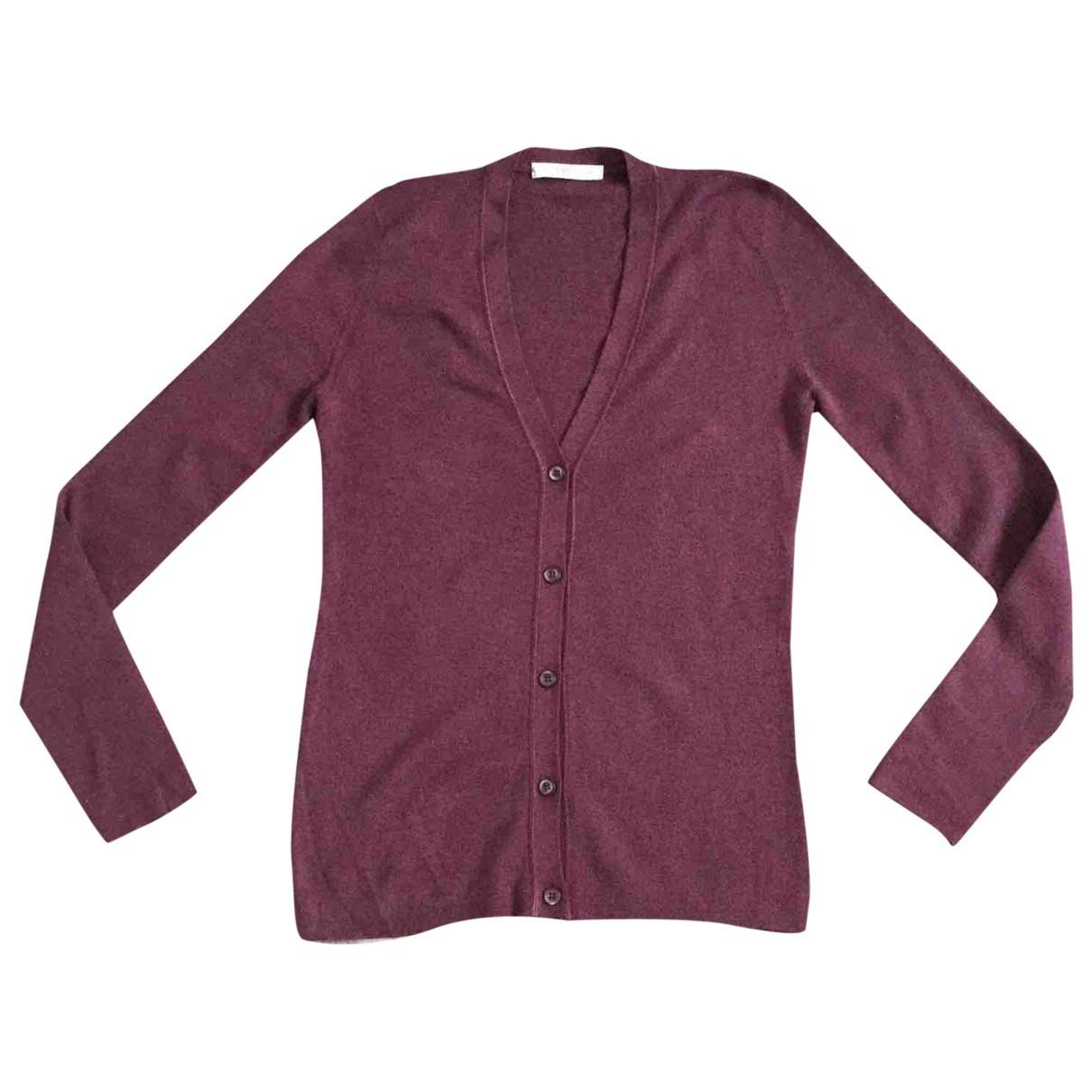 Prada - Pull   pour femme en laine - violet