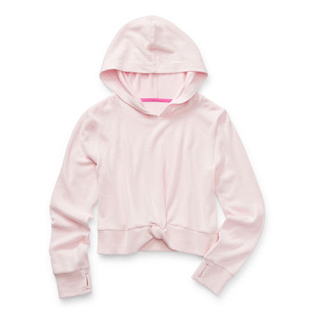 Xersion Hacci Little & Big Girls Hoodie, 2x-large (20.5) Plus , Pink