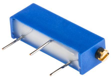 Bourns 10kΩ, Through Hole Trimmer Potentiometer 0.75W Side Adjust , 3006 (25)