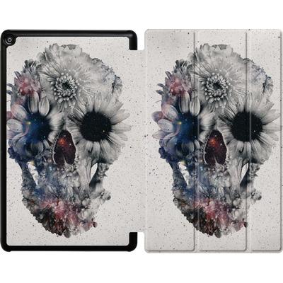 Amazon Fire HD 10 (2018) Tablet Smart Case - Floral Skull 2 von Ali Gulec