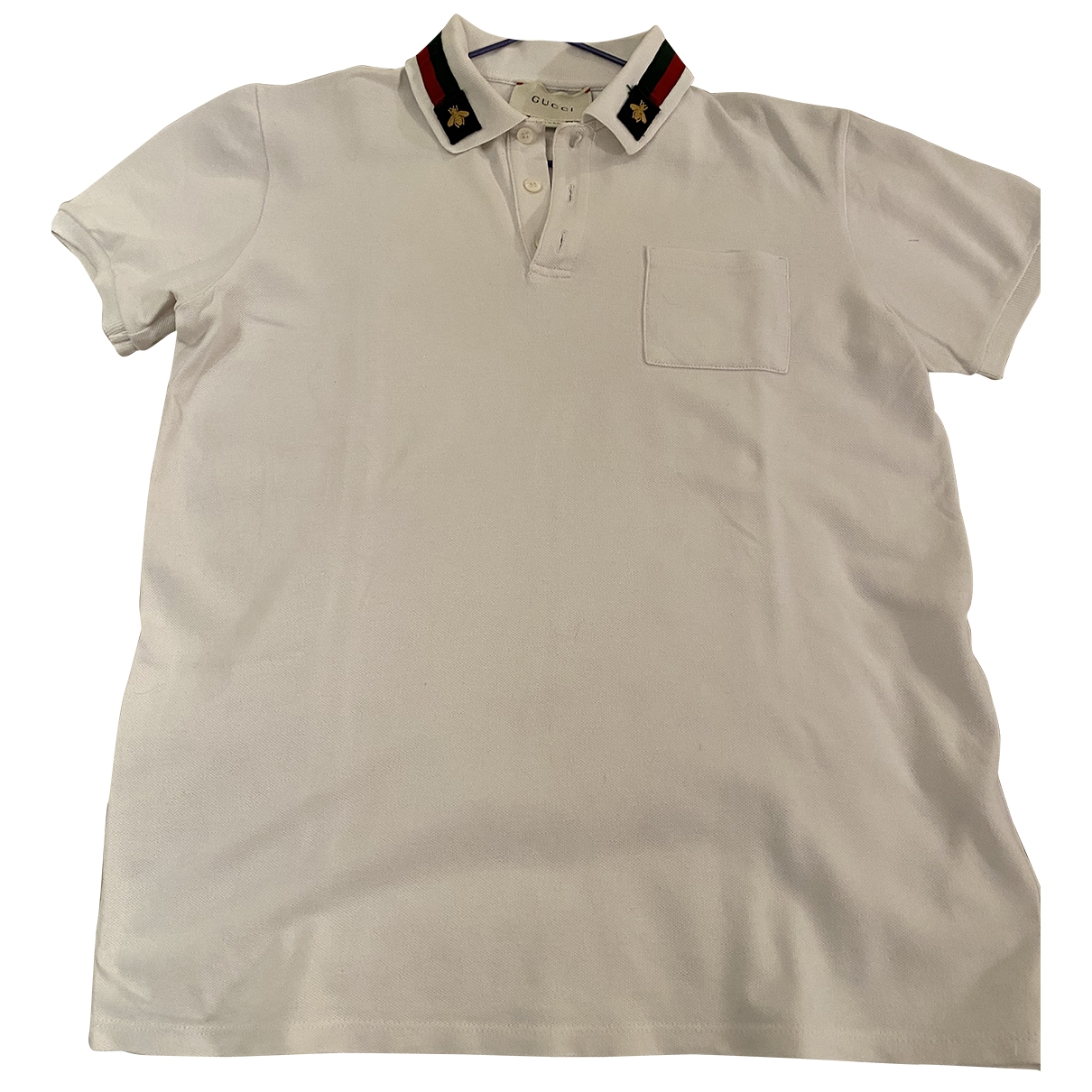 Gucci \N White Cotton  top for Kids 12 years - XS FR