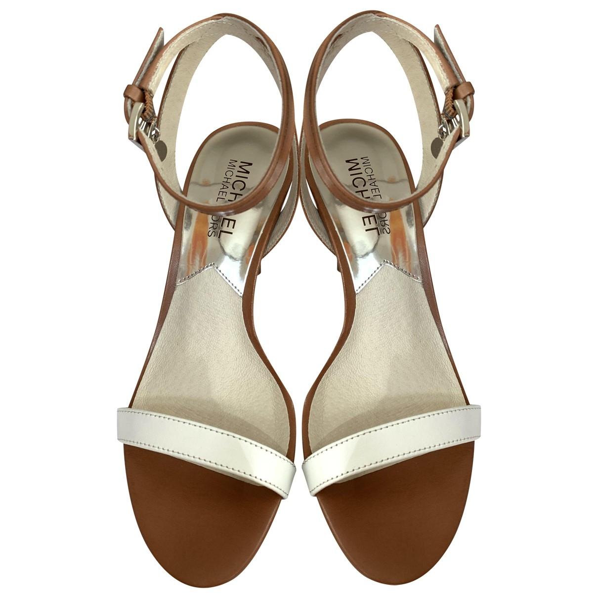 Michael Kors \N Brown Leather Sandals for Women 35.5 EU