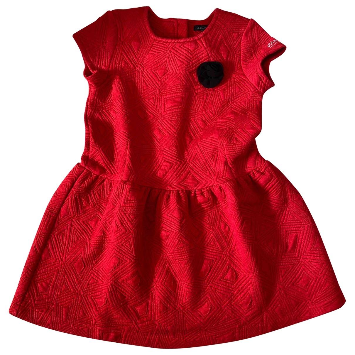 Ikks \N Kleid in  Rot Polyester