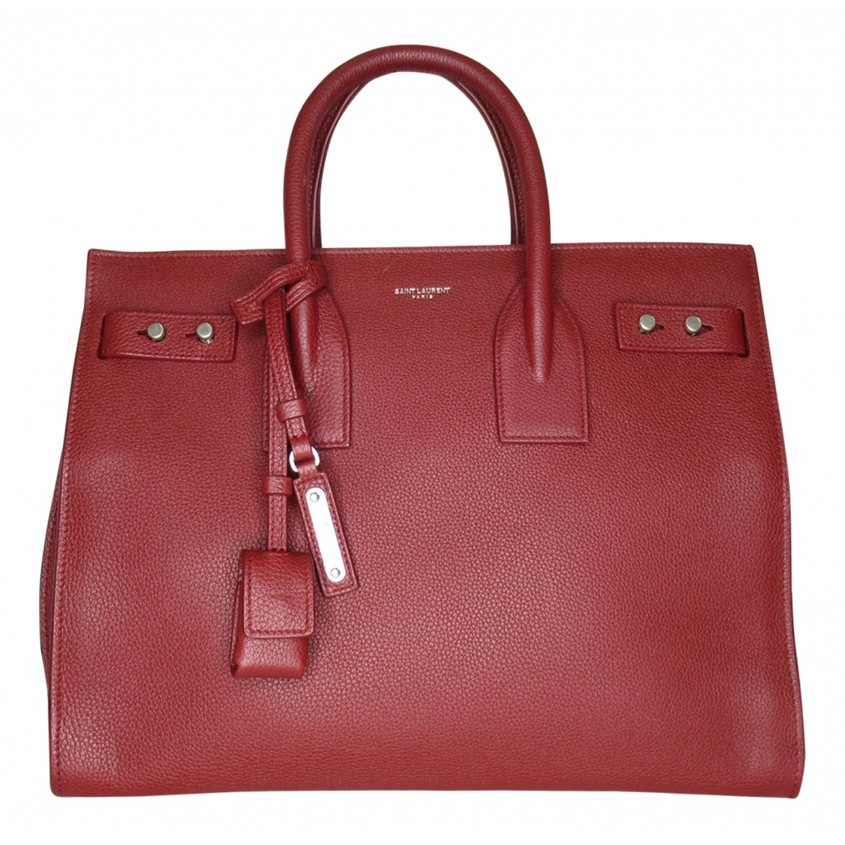 Saint Laurent Sac de Jour Red Leather handbag for Women N