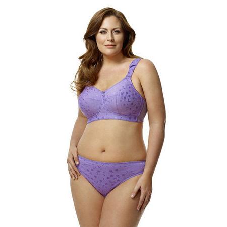 Elila Jacquard Panty, 9x , Purple