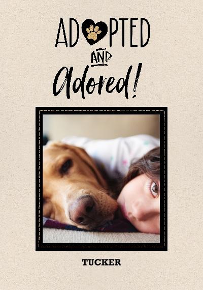 Pet Canvas Print, 20x30, Home Décor -Pet Rescue