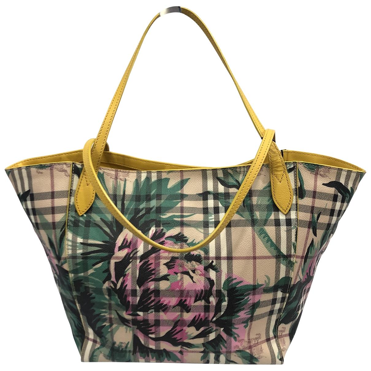 Burberry \N Multicolour Cloth handbag for Women \N