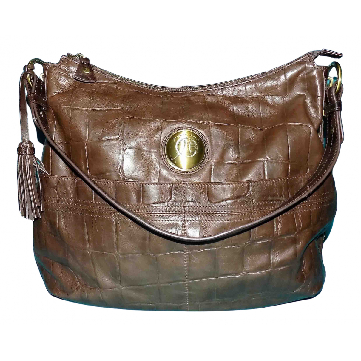 Jacques Esterell \N Brown Leather handbag for Women \N