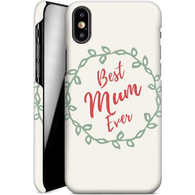 Apple iPhone X Smartphone Huelle - Best Mum Ever von caseable Designs