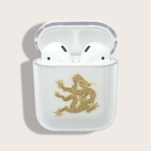 Chinese Dragon Clear Airpods Case
