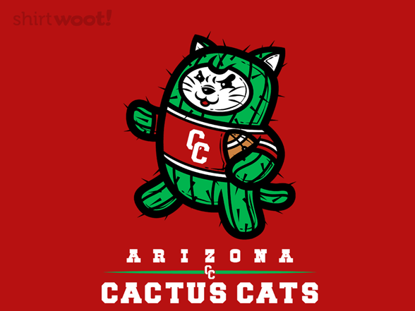 Arizona Cactus Cats T Shirt
