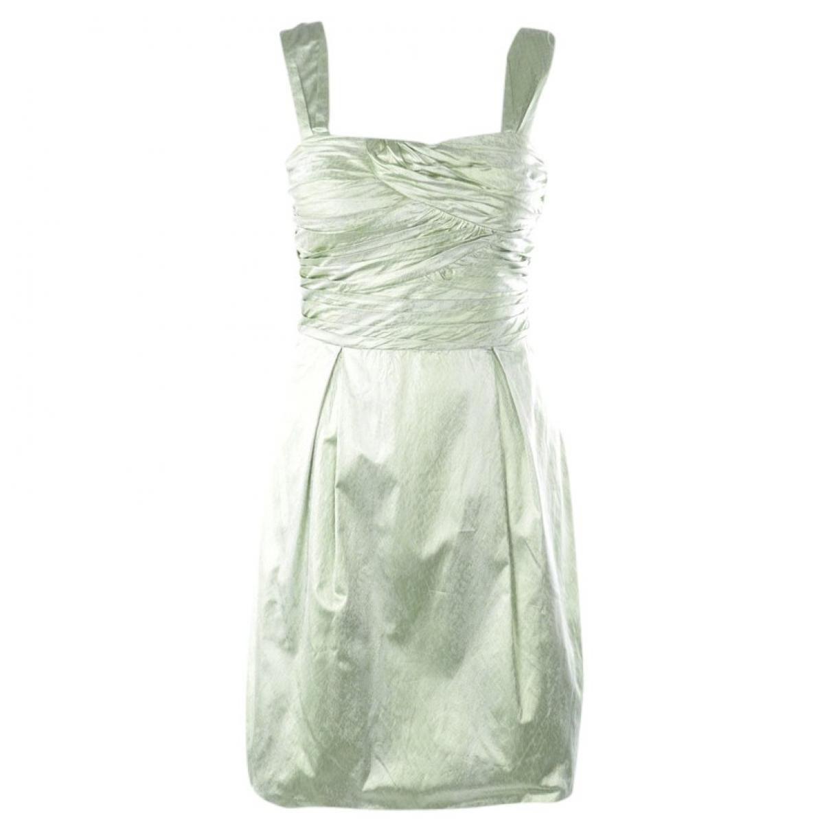 Diane Von Furstenberg \N Kleid in  Gruen Polyester