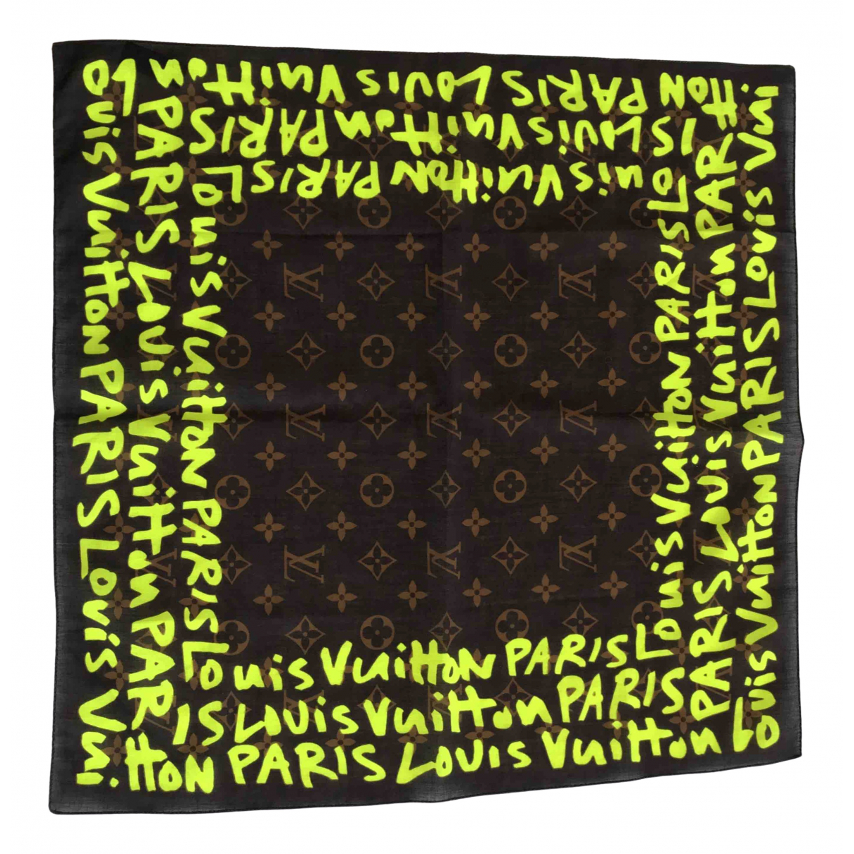 Louis Vuitton \N Multicolour Cotton scarf for Women \N