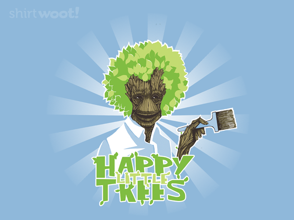 Happy Little Trees T Shirt