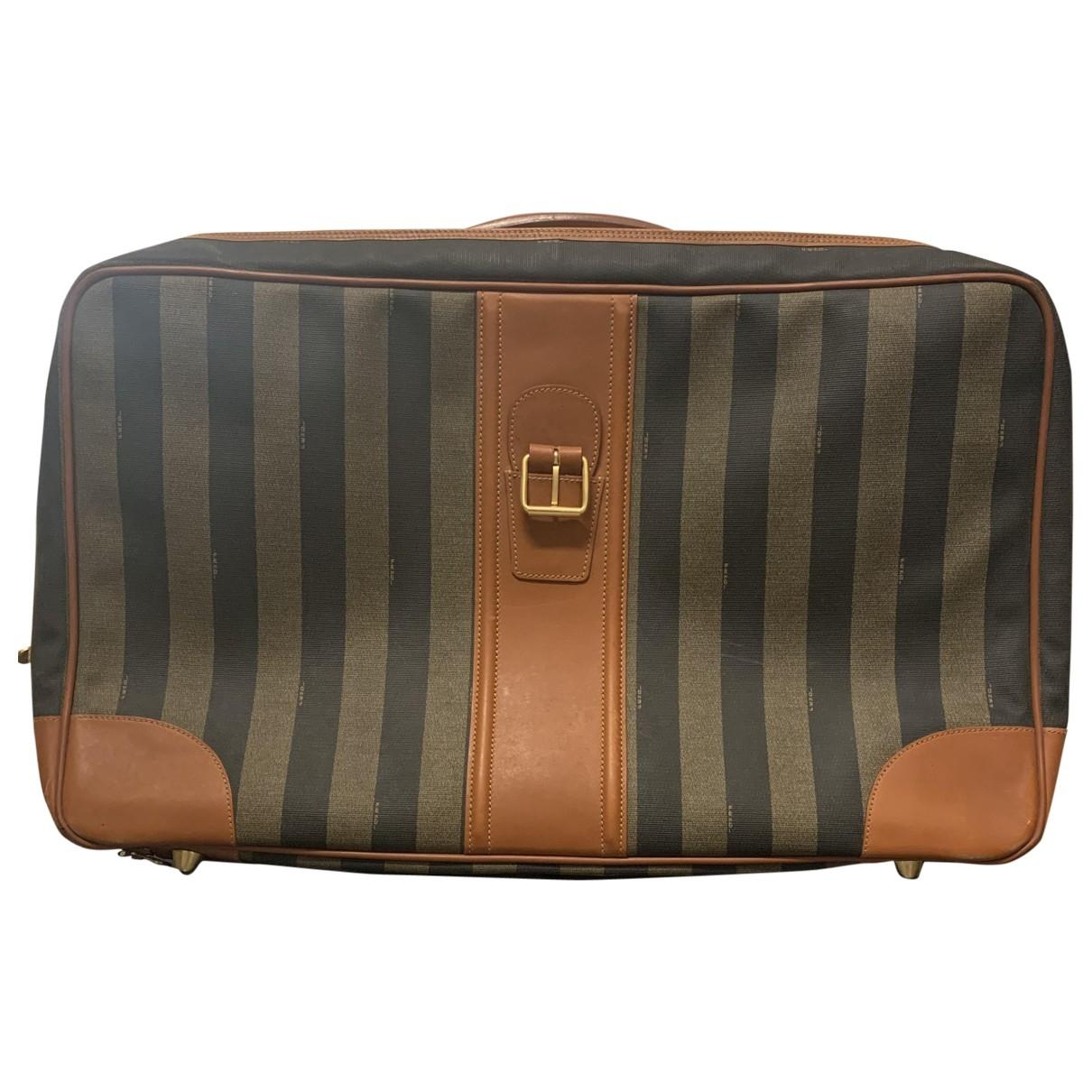 Fendi \N Cloth Travel bag for Women \N