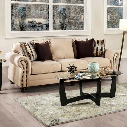 SM8008-SF Kailyn Transitional Sofa  in Sand