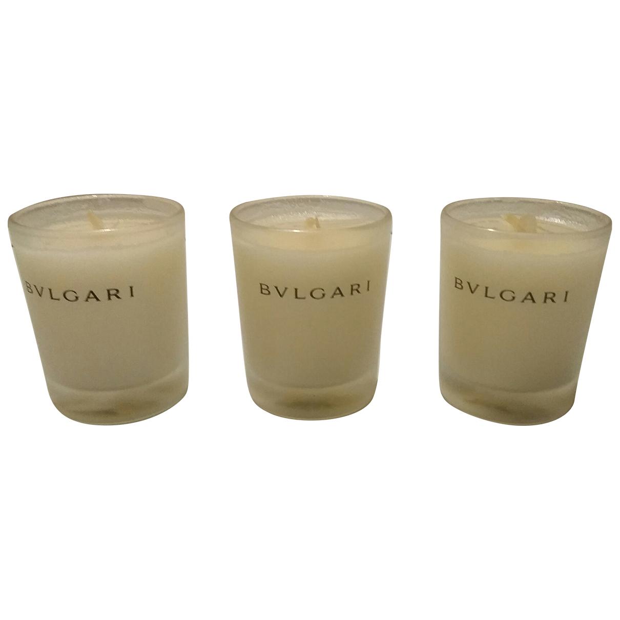Bvlgari - Objets & Deco   pour lifestyle en verre - beige