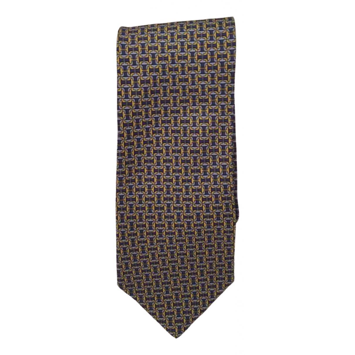 Etro \N Krawatten in  Beige Seide