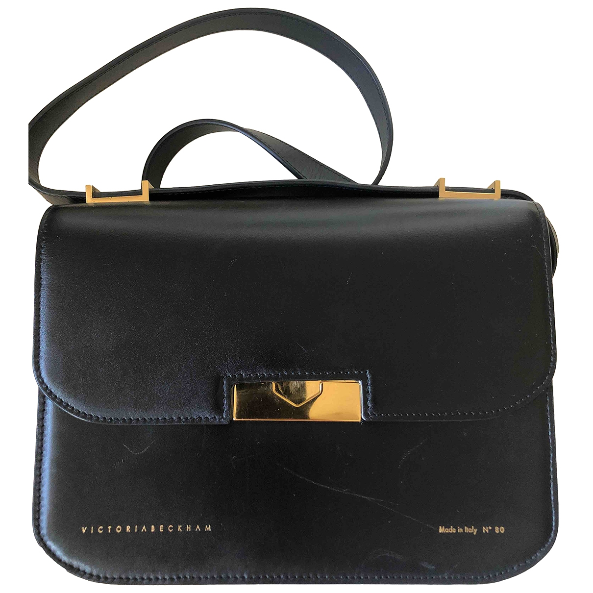 Victoria Beckham \N Black Leather handbag for Women \N
