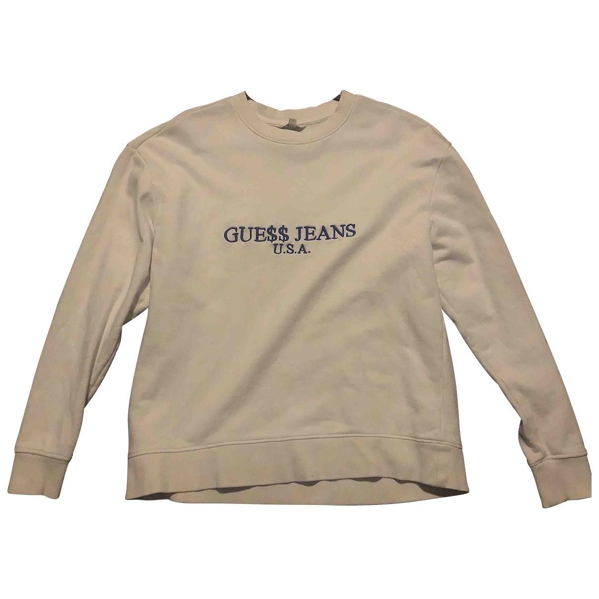 Guess X A$ap Rocky \N Pullover.Westen.Sweatshirts  in  Weiss Baumwolle