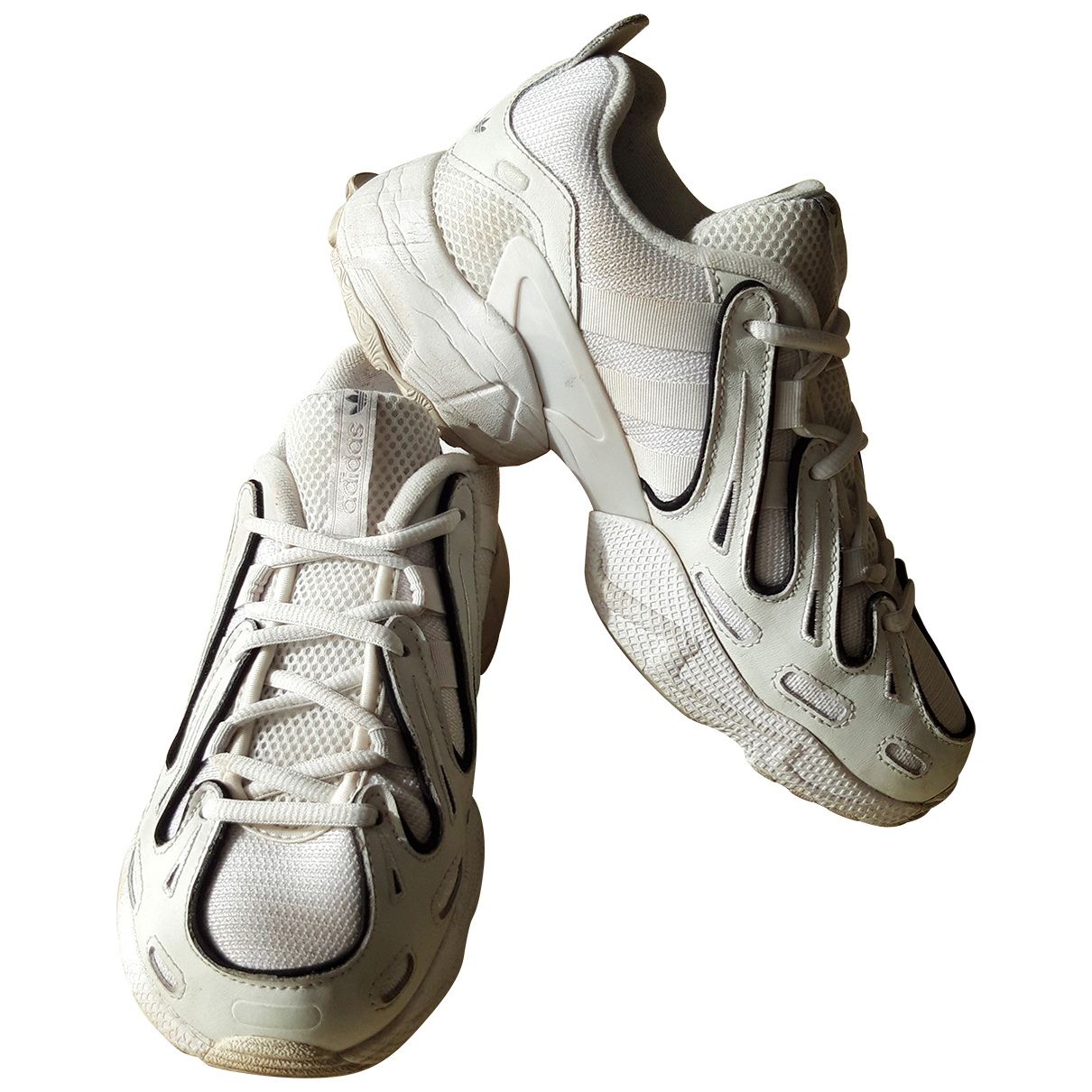 Adidas Gazelle Sneakers in  Weiss Leinen