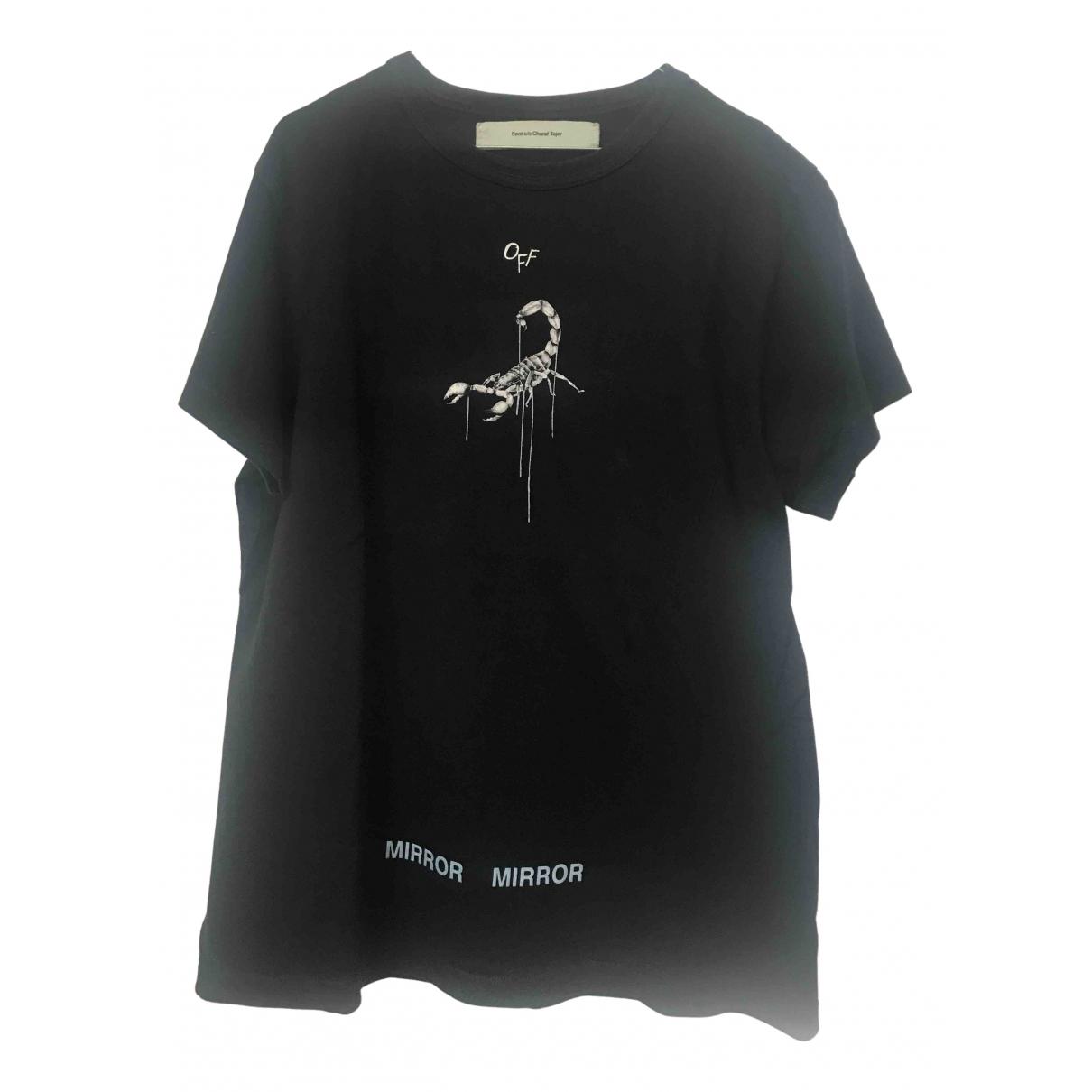 Off-white \N Black Cotton T-shirts for Men S International