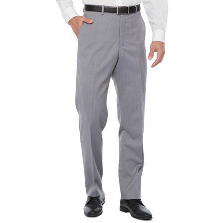 Stafford Super Suit Mens Classic Fit Suit Pants, 34 32, Gray