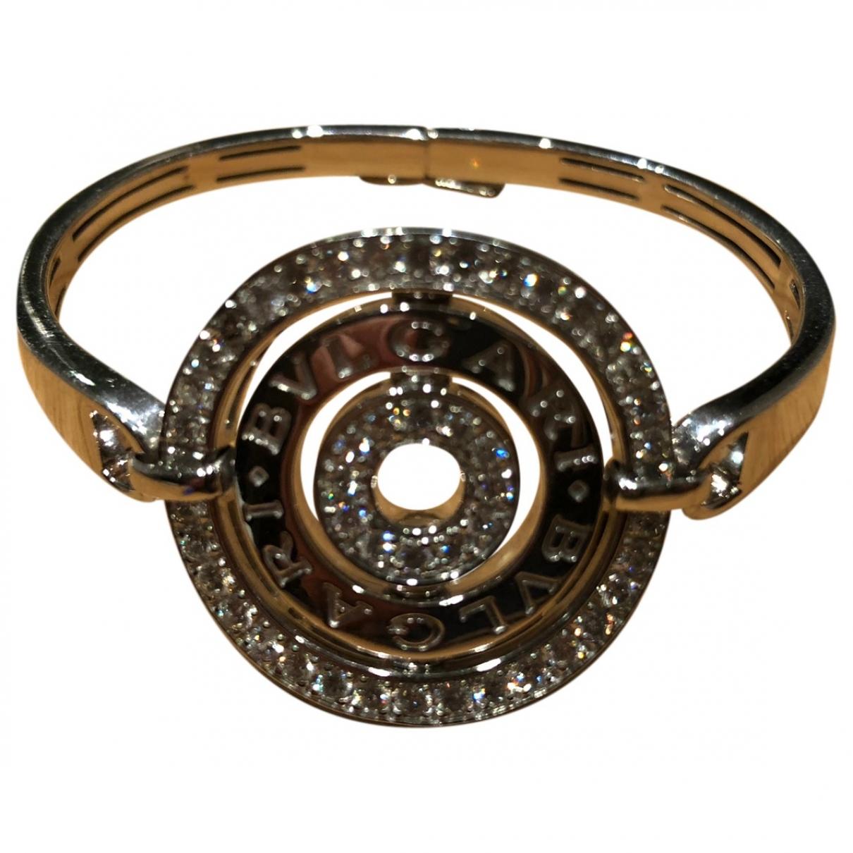 Bvlgari - Bracelet Astrale pour femme en or blanc - argente