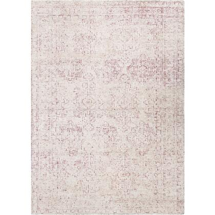 Bella LLB-2303 4' x 6' Rectangle Traditional Rug in Rose