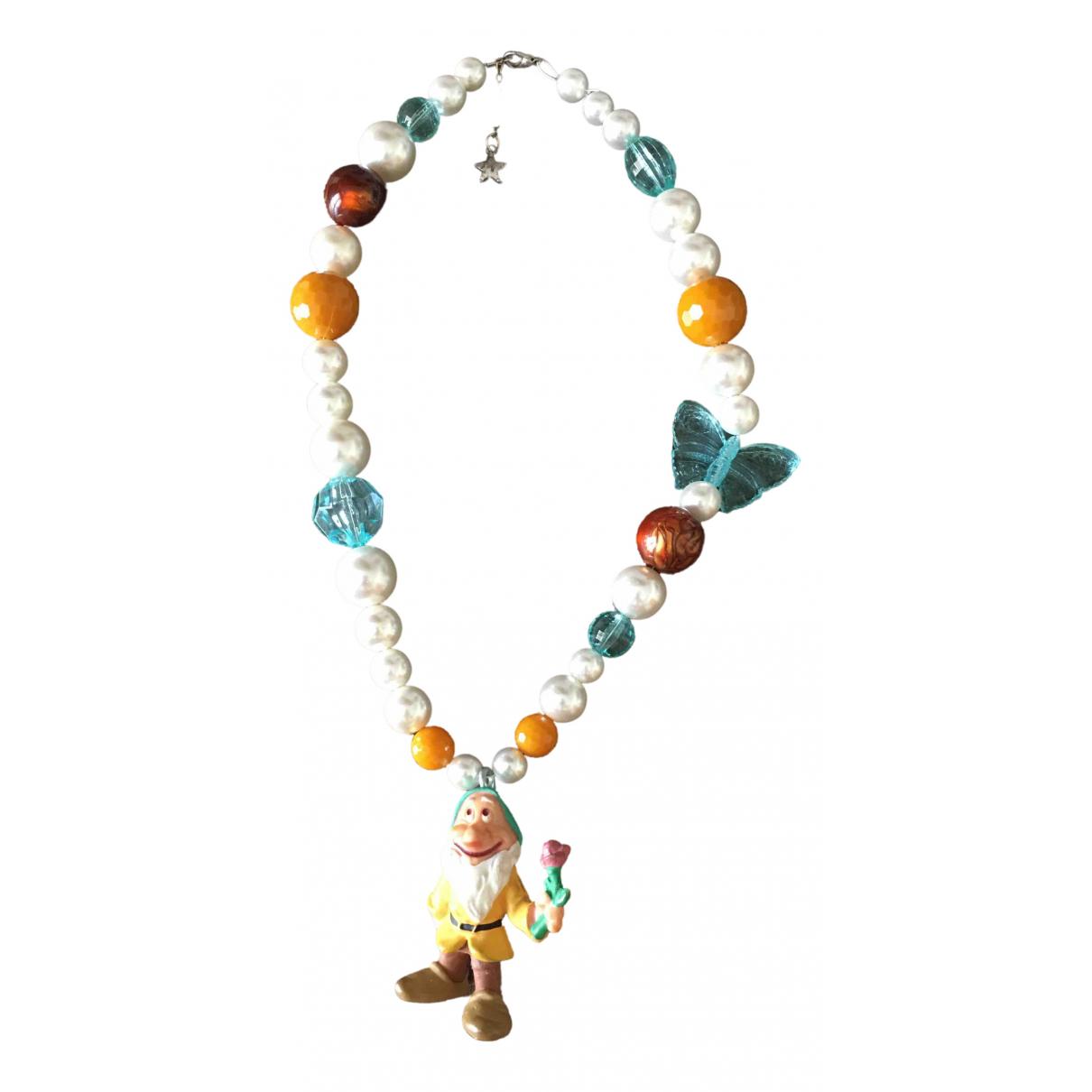 - Collier   pour femme en perles - multicolore