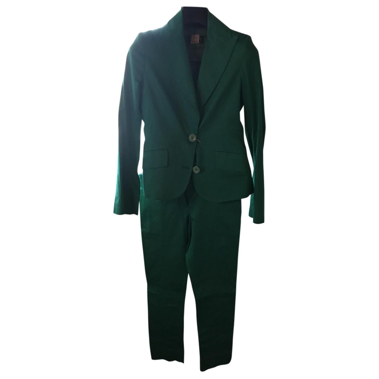 Patrizia Pepe - Robe   pour femme en coton - vert