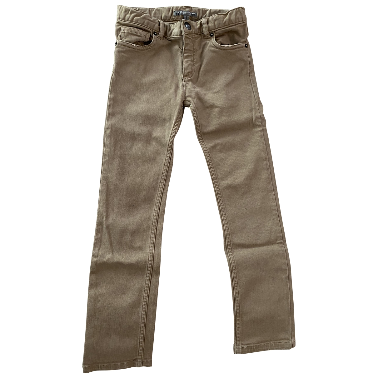 Bonpoint \N Camel Cotton Trousers for Kids 6 years - up to 114cm FR