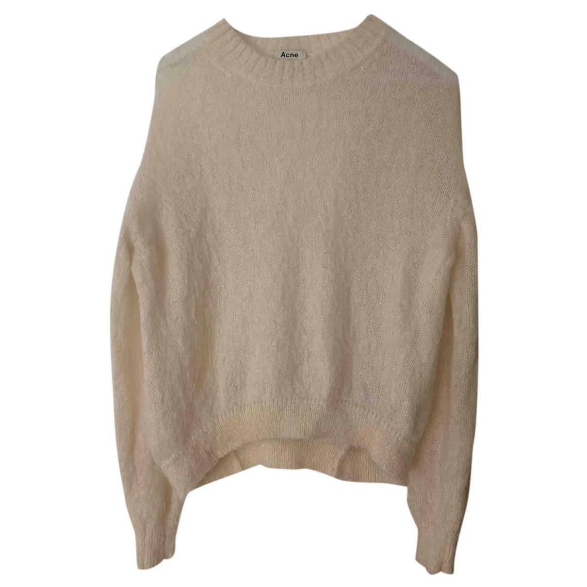 Acne Studios N White Wool Knitwear for Women XS International