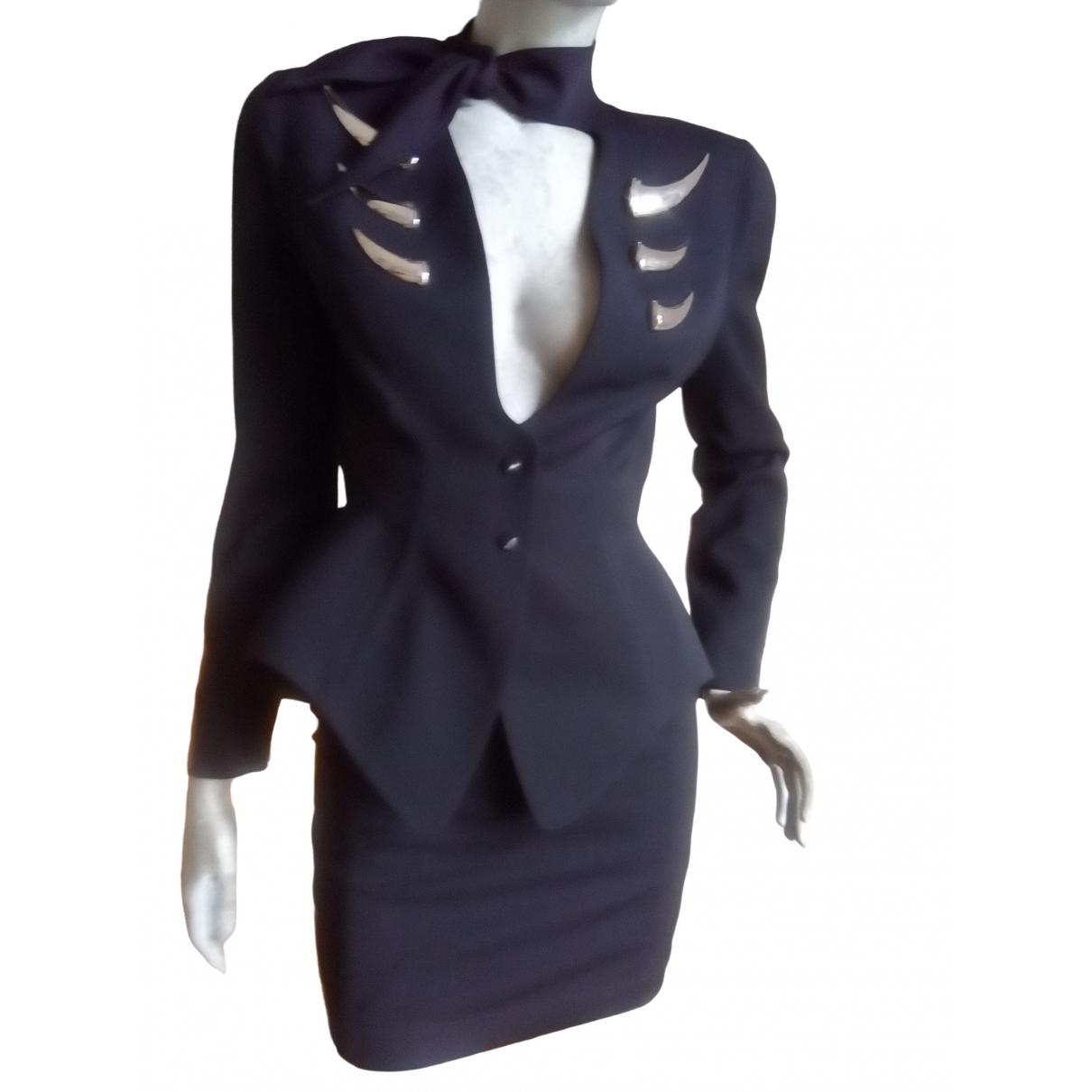 Thierry Mugler \N Black jacket for Women 36 FR