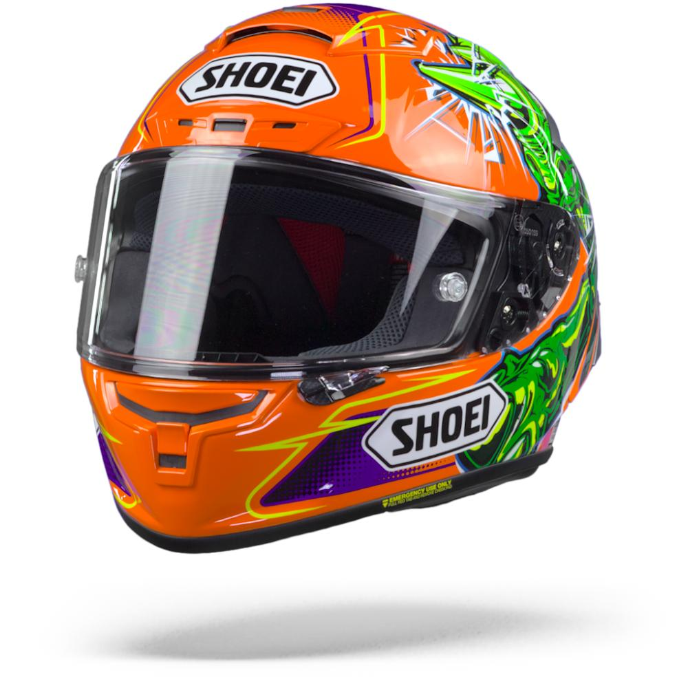 Shoei X-Spirit III Power Rush TC-8 Casco Integral S