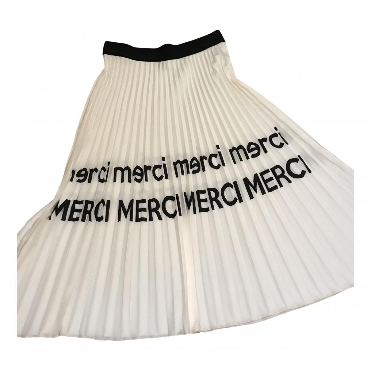 Merci \N White skirt for Women One Size International