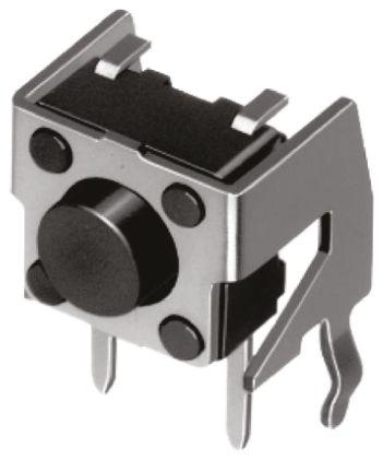 Alps Alpine Grey Stem Tactile Switch, Single Pole Single Throw (SPST) 50 mA @ 12 V dc 8.35mm (20)