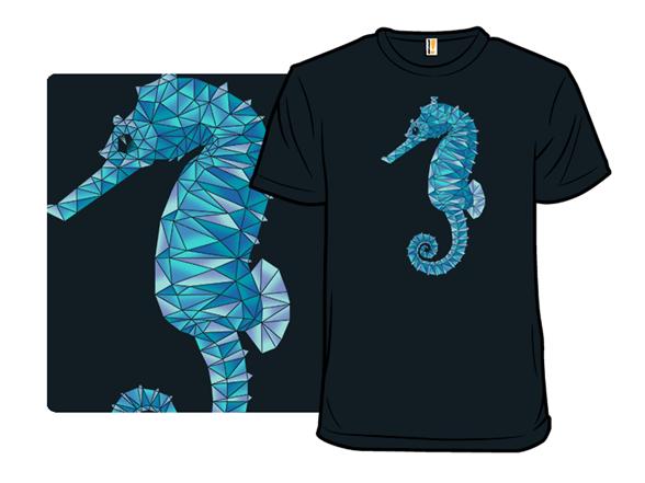 Fragmented Seahorse T Shirt
