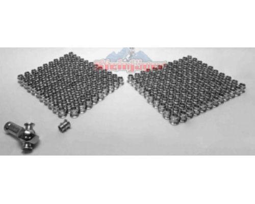 Steinjager J0014194 240 Pack HMBZC-8-6 High Misalignment Insert Plated Steel 0.5 x 0.375