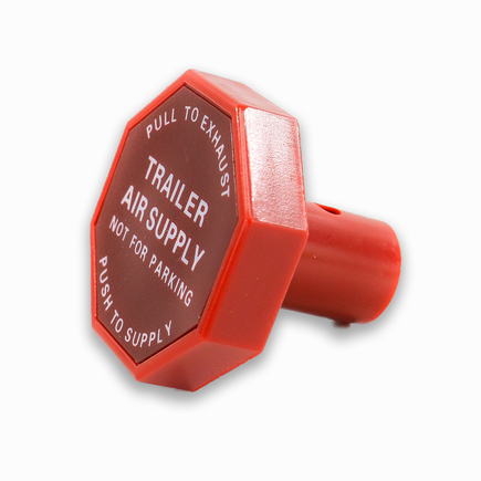 Power Products 20900P - Trailer Air Supply Knob Octagon / Red